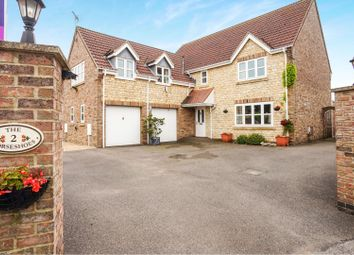 Thumbnail 4 bed detached house for sale in The Horseshoes, Metheringham