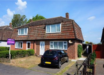 Thumbnail 3 bed semi-detached house for sale in Cornwall Way, Ruskington, Sleaford