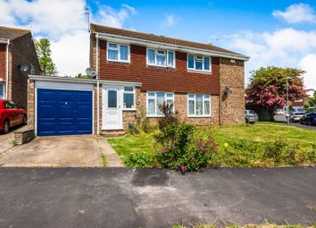 Thumbnail 3 bed semi-detached house for sale in Lexden Drive, Seaford