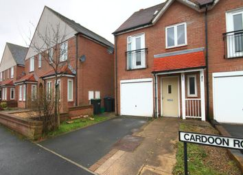 Thumbnail 3 bedroom semi-detached house to rent in Cardoon Road, Consett