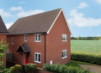 Thumbnail 4 bed detached house for sale in Kings Close, Rougham, Bury St. Edmunds