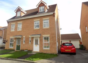 Thumbnail 3 bed semi-detached house for sale in Bella Close, Langley Mill, Nottingham, Derbyshire