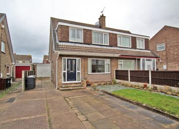 Thumbnail 3 bed semi-detached house for sale in Davidson Close, Arnold, Nottingham