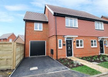 Thumbnail 3 bed end terrace house for sale in Cresswell Park, Roundstone Lane, Angmering, West Sussex