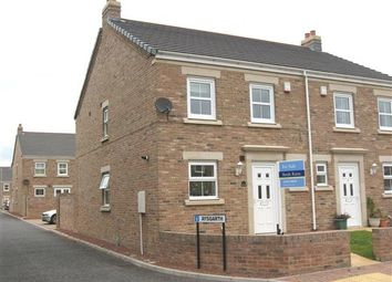 Thumbnail 3 bed semi-detached house to rent in Aysgarth, East Hartford, Cramlington