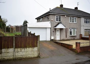 Thumbnail 3 bed semi-detached house for sale in Townroe Drive, Mansfield