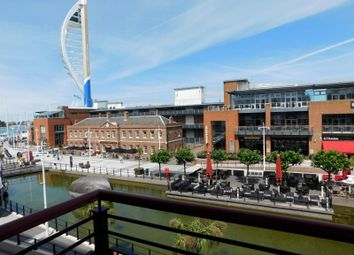 Thumbnail 2 bed flat to rent in Anson Court, The Canalside, Portsmouth