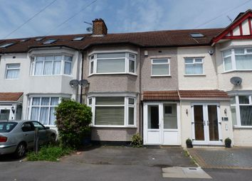 Thumbnail 3 bed terraced house for sale in Gantshill Crescent, Gants Hill