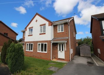 Thumbnail 3 bed semi-detached house to rent in Llwyn Harlech, Bodelwyddan, Rhyl