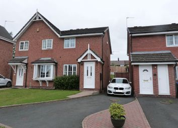Thumbnail 2 bed semi-detached house to rent in Swallow Walk, Biddulph, Staffordshire
