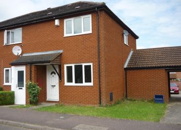 Thumbnail 2 bed end terrace house to rent in Downland, Two Mile Ash, Milton Keynes
