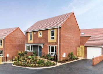 Thumbnail 4 bedroom detached house for sale in Tithe Barn, Tithe Barn Link Road, Monkerton, Exeter