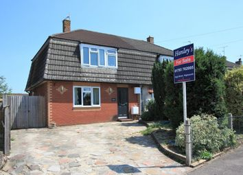 Thumbnail 3 bed semi-detached house for sale in Queens Avenue, Highworth, Swindon