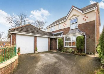 Thumbnail 4 bed detached house for sale in Redesmere Close, Macclesfield