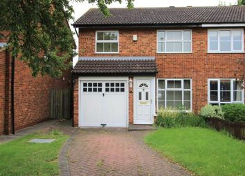 Thumbnail 3 bed semi-detached house to rent in Hamble Road, Bedford