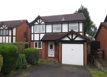Thumbnail 3 bed detached house for sale in Hoylake Close, Bloxwich, Walsall