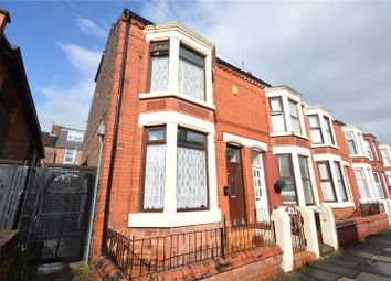 Thumbnail 3 bed end terrace house for sale in Rundle Road, Aigburth Vale, Liverpool