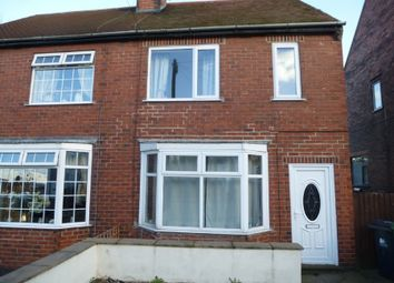 Thumbnail 2 bed semi-detached house to rent in Meadow Lane, Alfreton