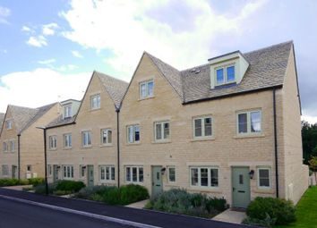 Thumbnail 4 bed terraced house to rent in Nightingale Way, South Cerney, Cirencester