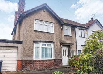 Thumbnail 3 bed semi-detached house for sale in Higher Road, Liverpool