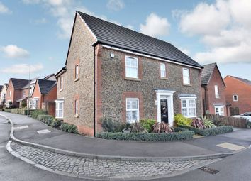 Thumbnail 4 bed detached house for sale in Columbine Way, Clanfield, Waterlooville