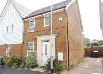 Thumbnail 3 bed property to rent in Bunyard Way, Allington, Maidstone
