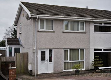 Thumbnail 3 bed semi-detached house for sale in Clifton Court, Treboeth