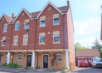 Thumbnail 4 bedroom end terrace house for sale in Vistula Crescent, Swindon