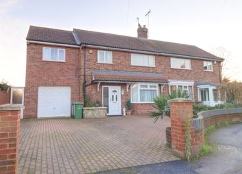 4 bed semi-detached house for sale in Gildenburgh Avenue, Peterborough PE1