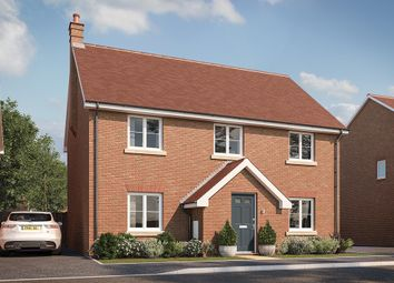 "Thumbnail 4 bed property for sale in ""The Calder"" at Buckingham Road, Steeple Claydon, Buckingham"