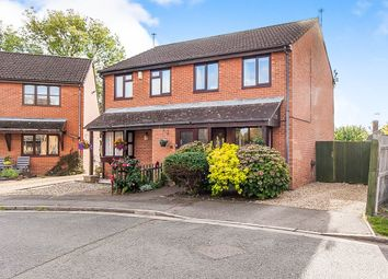 Thumbnail 3 bed semi-detached house for sale in Beatons Close, Yaxley, Peterborough