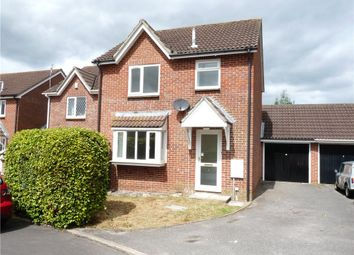 Thumbnail 3 bed semi-detached house to rent in Mortain Close, Blandford Forum, Dorset