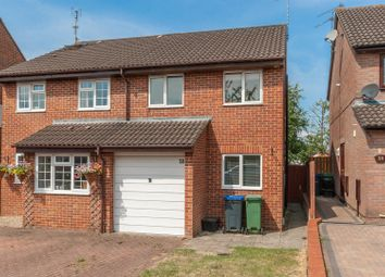 Thumbnail 3 bed semi-detached house for sale in Glenville Close, Royal Wootton Bassett, Swindon