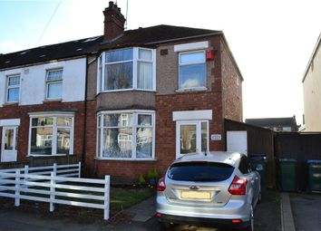 Thumbnail 3 bed end terrace house for sale in Lindley Road, Coventry, West Midlands