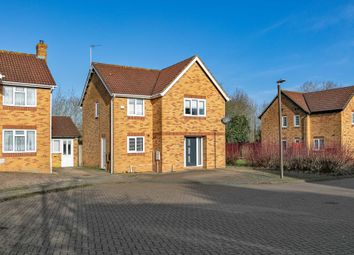 Thumbnail 4 bedroom detached house for sale in Morebath Grove, Furzton, Milton Keynes