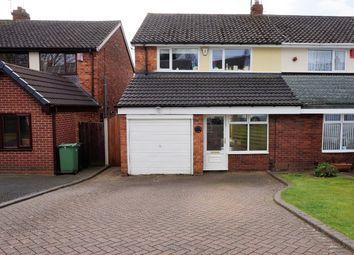 Thumbnail 3 bed semi-detached house for sale in Elmbridge Close, Halesowen