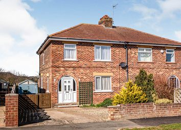 Thumbnail 3 bed semi-detached house for sale in Willow Garth, Scarborough, North Yorkshire