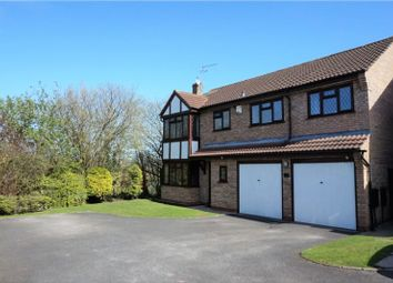 Thumbnail 5 bed detached house for sale in Ampleforth Drive, Stafford