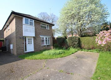 Thumbnail 4 bed detached house for sale in Bures Close, Stowmarket