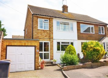 Thumbnail 3 bed semi-detached house for sale in Clare Avenue, Wickford