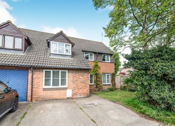 Thumbnail 4 bed semi-detached house for sale in Swallowfields, Andover