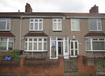 Thumbnail 3 bed terraced house for sale in Ventnor Road, St. George, Bristol