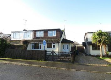 Thumbnail 3 bedroom semi-detached house for sale in Wimblestone Road, Winscombe