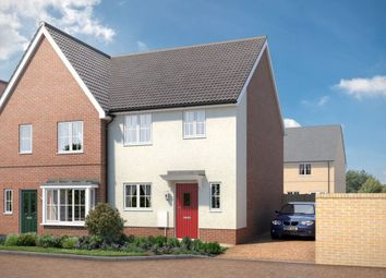 "Thumbnail 3 bed property for sale in ""The Leigh"" at Yarrow Walk, Red Lodge, Bury St. Edmunds"