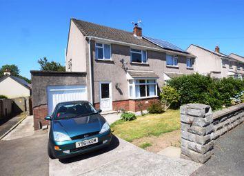 Thumbnail 3 bedroom semi-detached house for sale in Woodlands Park, Merlins Bridge, Haverfordwest