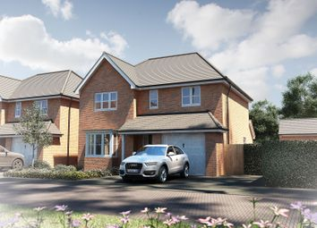 "Thumbnail 4 bed detached house for sale in ""The Buckland"" at Oak Tree Road, Hugglescote, Coalville"