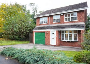 Thumbnail 4 bed detached house for sale in Gainsborough Drive, Perton, Wolverhampton