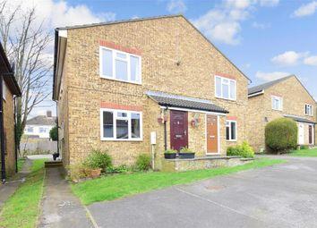 Thumbnail 2 bedroom maisonette for sale in Secretan Road, Rochester, Kent