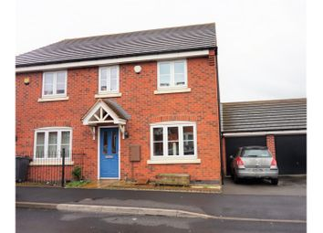 Thumbnail 4 bed end terrace house for sale in William Barrows Way, Tipton