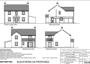 Thumbnail 3 bed detached house for sale in Chop Hills, Wainfleet, Skegness, Lincolnshire